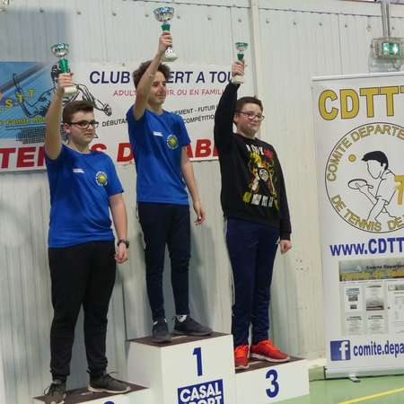 Podium junior